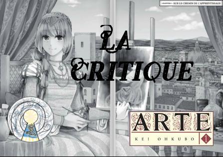 Critique : Arte (Kei Ohkubo)