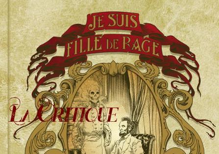 Critique : Je suis fille de rage – Jean-Laurent Del Socorro