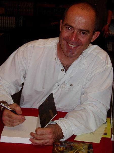 Pierre Bottero en Dédicace
